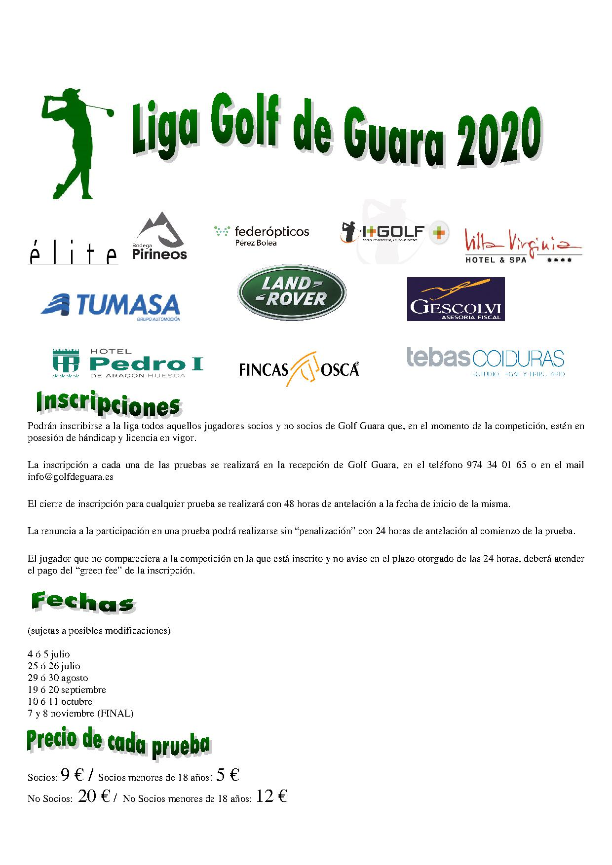 1NORMAS LIGA GOLF GUARA CON LOGOTIPOS 2020
